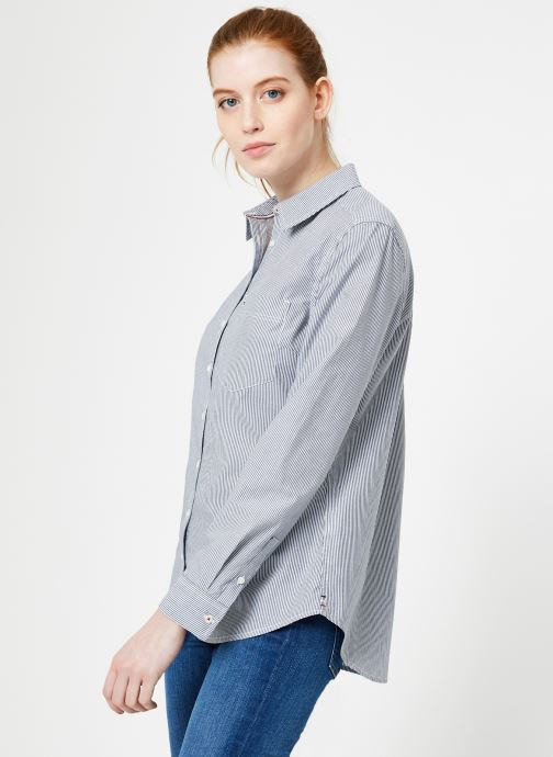 Tjw Regular White Et Iris Stripe Jeans Tommy Tops Black VêtementsChemises classic Poplin Shirt nv0wmN8