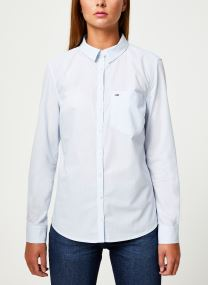 TJW REGULAR STRIPE POPLIN SHIRT