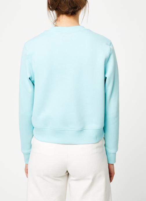 Kleding Tommy Jeans TJW SIDE SEAM DETAIL CREW Blauw model