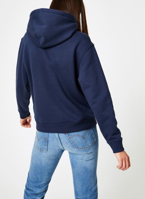 Kleding Tommy Jeans TJW TOMMY SIGNATURE HOODIE Blauw model