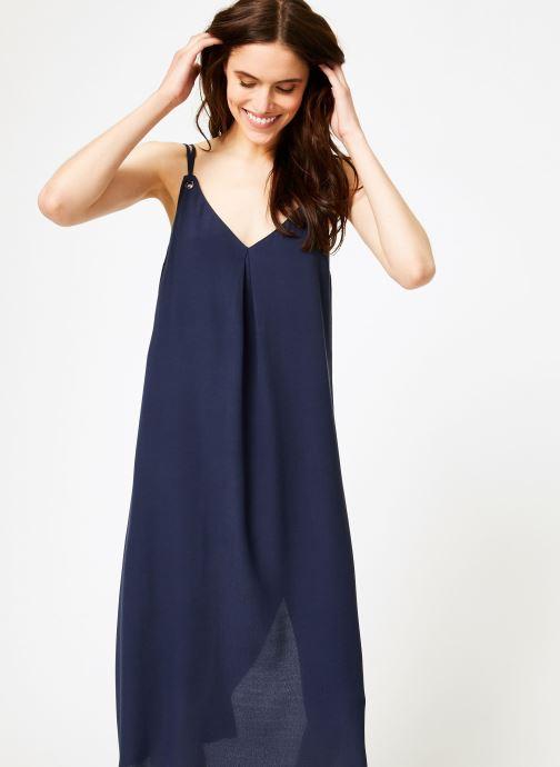 Vêtements Tommy Jeans TJW MIDI STRAP DRESS Bleu vue détail/paire