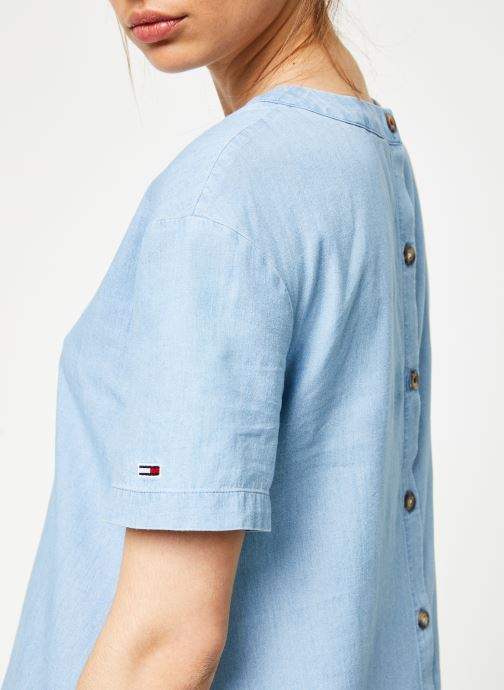 Tommy Tjw Chez Dress Chambray Droppred Jeans bleu 366525 Vêtements Waist rPxwUrqA