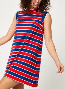 Kläder Tillbehör TJW A-LINE STRIPE DRESS