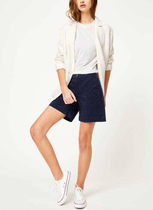 Tøj Tommy Jeans TJW ESSENTIAL CHINO SHORT Blå se forneden