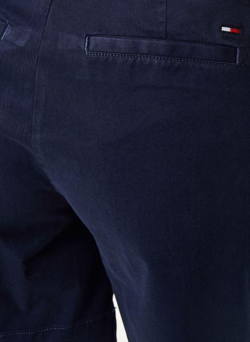 Tøj Tommy Jeans TJW ESSENTIAL CHINO SHORT Blå se forfra