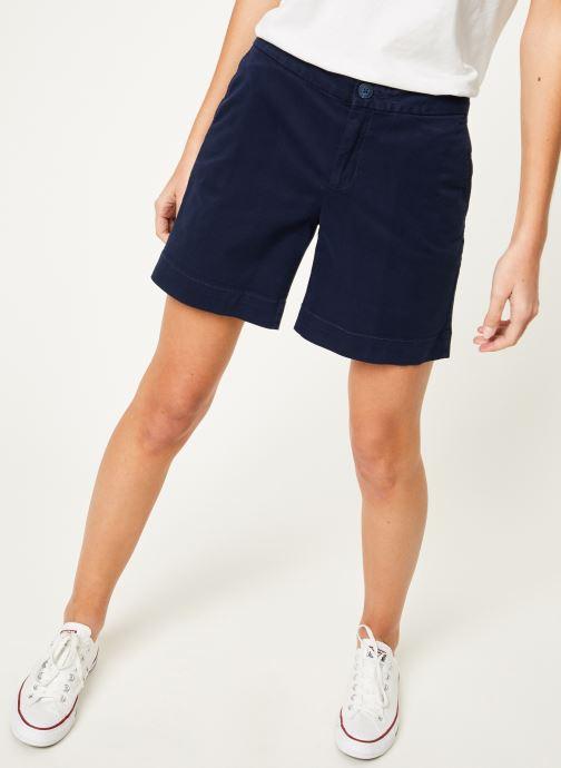 Tøj Tommy Jeans TJW ESSENTIAL CHINO SHORT Blå detaljeret billede af skoene