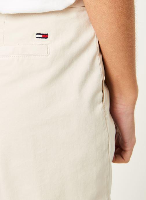 Vêtements Tommy Jeans TJW ESSENTIAL CHINO SHORT Beige vue face
