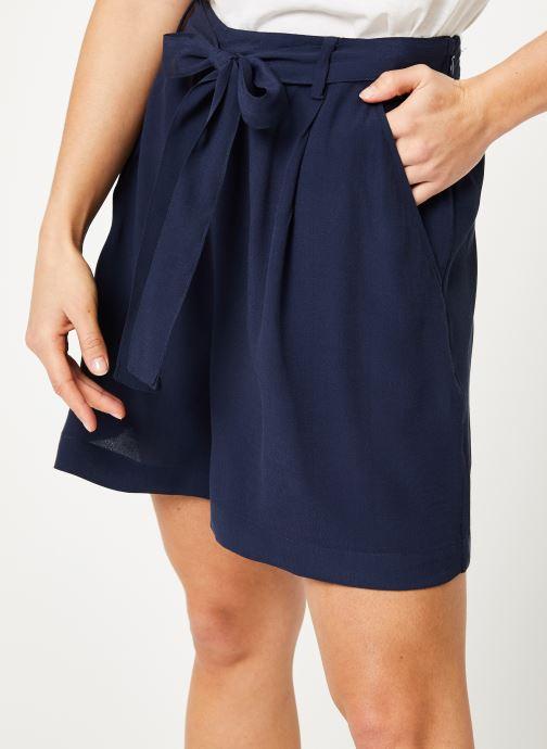 Vêtements Tommy Jeans TJW FLUID BOW DETAIL SHORT Bleu vue détail/paire