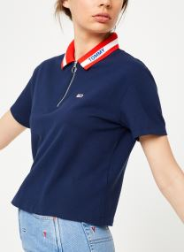 TJW TOMMY BRANDED COLLAR POLO