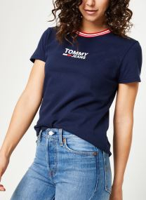 Tøj Accessories TJW RIB STRIPE NECK TEE