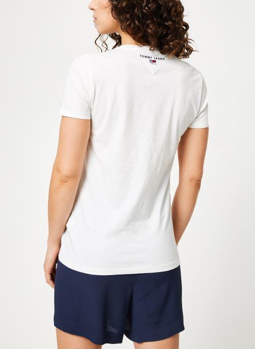 Jeans Et VêtementsT Tjw shirts Tommy With Débardeurs Tee Classic Love White 4Rj5AL