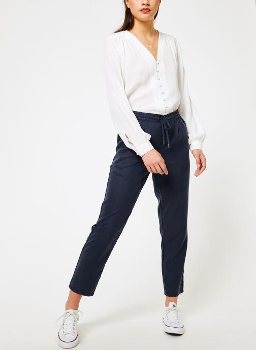 Kläder Tommy Jeans TJW FLUID JOG PANT Blå bild från under
