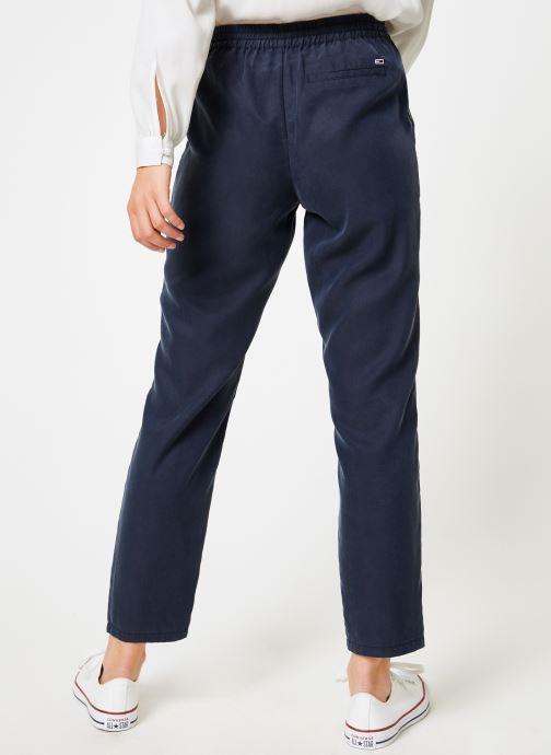 Kläder Tommy Jeans TJW FLUID JOG PANT Blå bild av skorna på