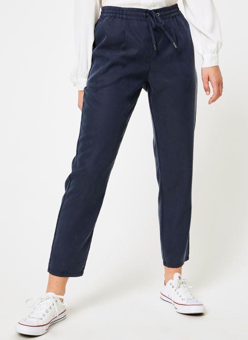 Kläder Tommy Jeans TJW FLUID JOG PANT Blå detaljerad bild på paret