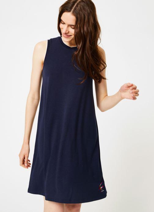 Vêtements Tommy Jeans TJW A-LINE TANK DRESS Bleu vue détail/paire