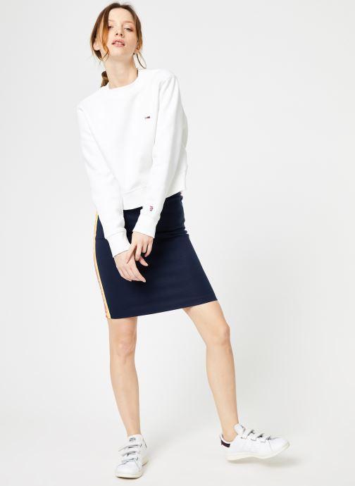 Skirt Iris VêtementsJupes Jeans Tjw Solid Black Tommy Bodycon n0Omv8Nw
