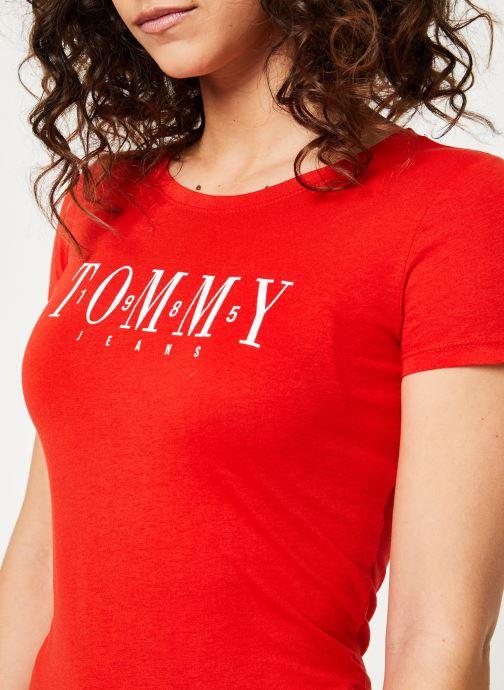 Tjw Jeans Tommy Vêtements Tee 366603 rouge Casual Chez fyWSRF