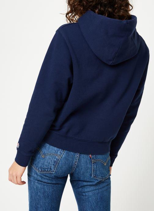 Kleding Tommy Jeans TJW TOMMY CLASSICS HOODIE Blauw model