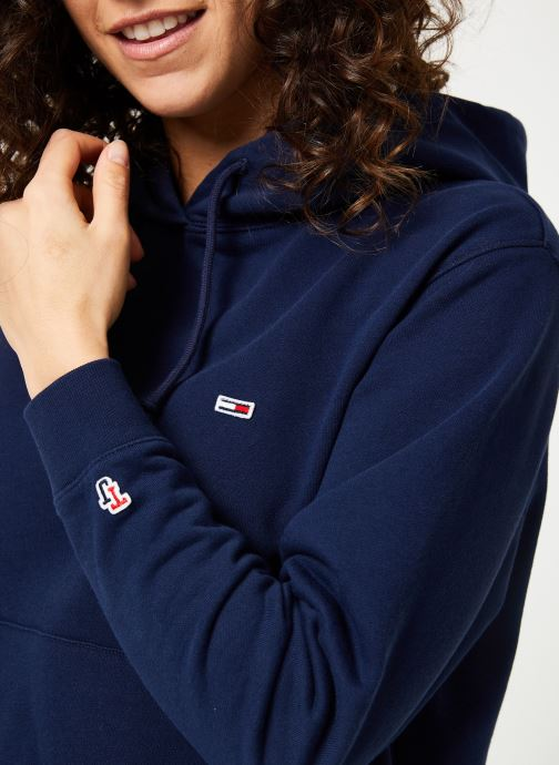 Kleding Tommy Jeans TJW TOMMY CLASSICS HOODIE Blauw voorkant
