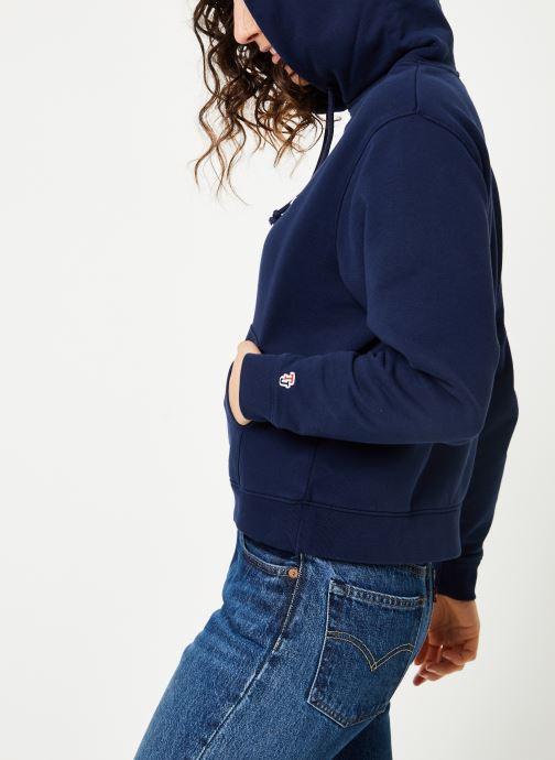 Kleding Tommy Jeans TJW TOMMY CLASSICS HOODIE Blauw detail