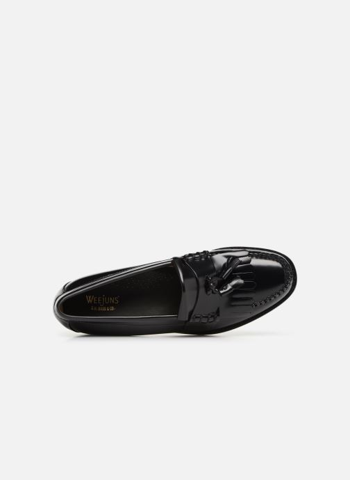 Loafers G.H. Bass Weejun Layton II Moc Kiltie Black view from the left