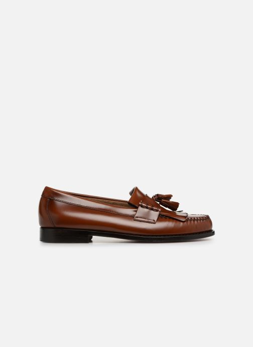 Loafers G.H. Bass Weejun Layton II Moc Kiltie Brown back view