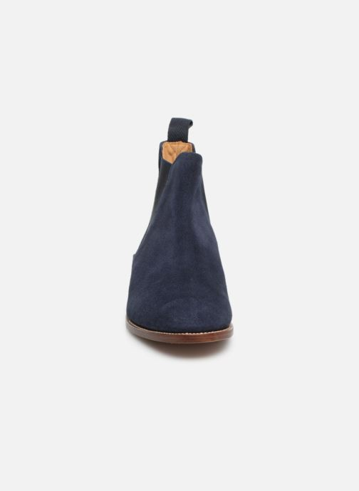 Ankle boots G.H. Bass Monogram Chelsea II Suede Blue model view