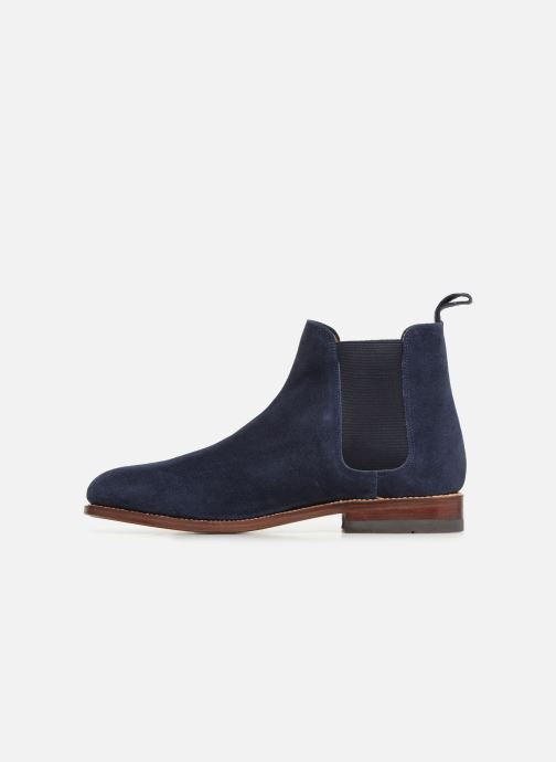 Ankle boots G.H. Bass Monogram Chelsea II Suede Blue front view