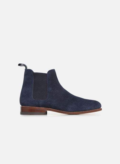 Ankle boots G.H. Bass Monogram Chelsea II Suede Blue back view