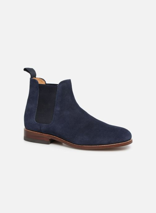 Ankle boots G.H. Bass Monogram Chelsea II Suede Blue detailed view/ Pair view