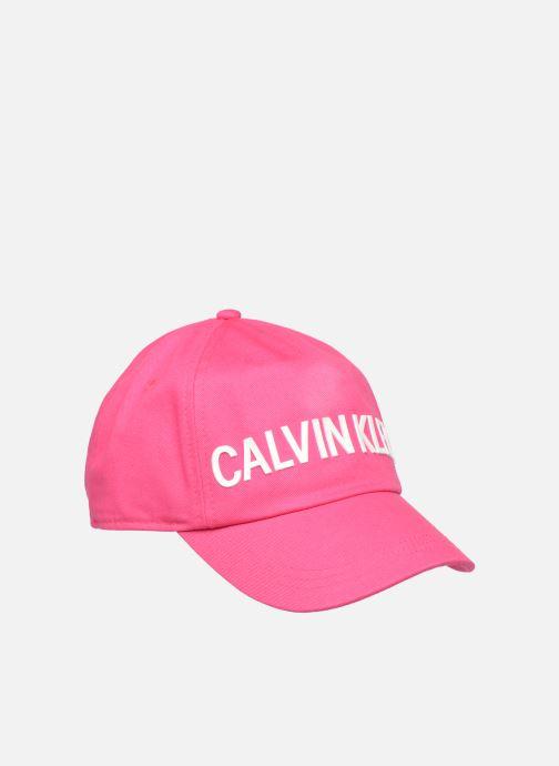 Cap Calvin Klein Junior IU0IU00015 Pink front view