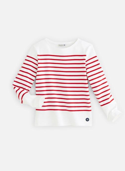 Vêtements Armor Lux Mariniere Amiral Rouge vue détail/paire