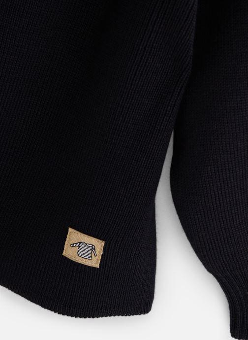 Vêtements Armor Lux Pull Marin Fouesnant Bleu vue portées chaussures