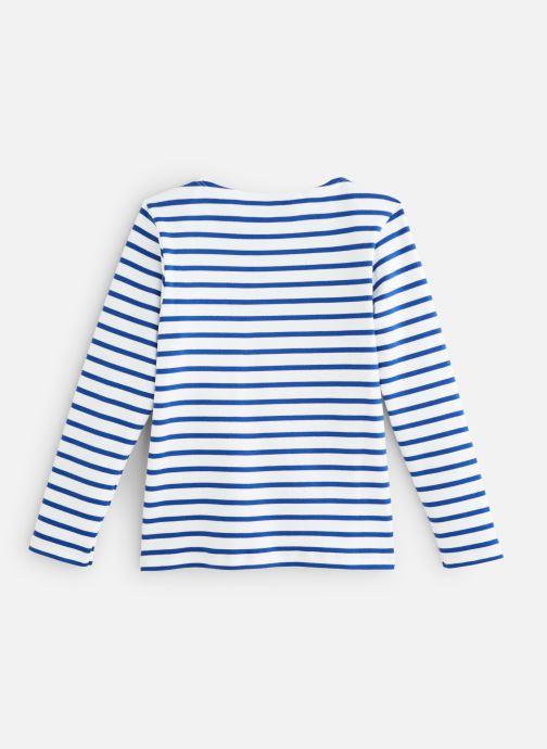Vêtements Armor Lux Mariniere Loctudy Bleu vue bas / vue portée sac