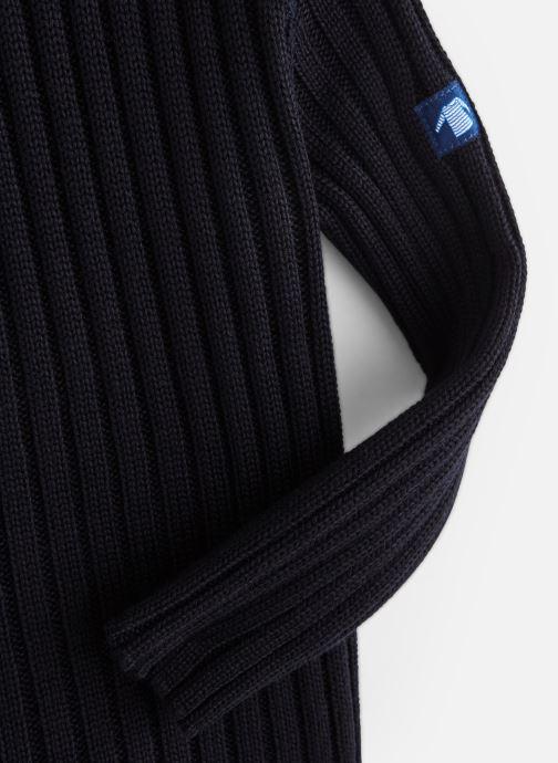 Vêtements Armor Lux Pull Marin Binic Bleu vue portées chaussures