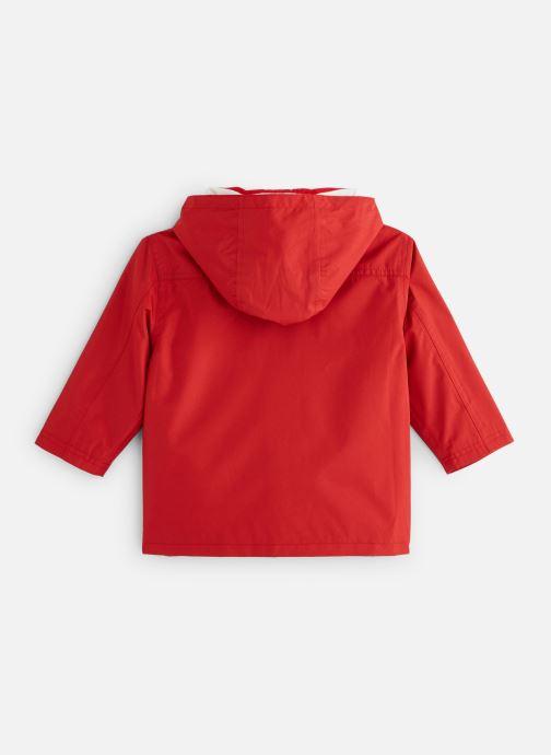 Vêtements Armor Lux Parka Audierne Rouge vue bas / vue portée sac