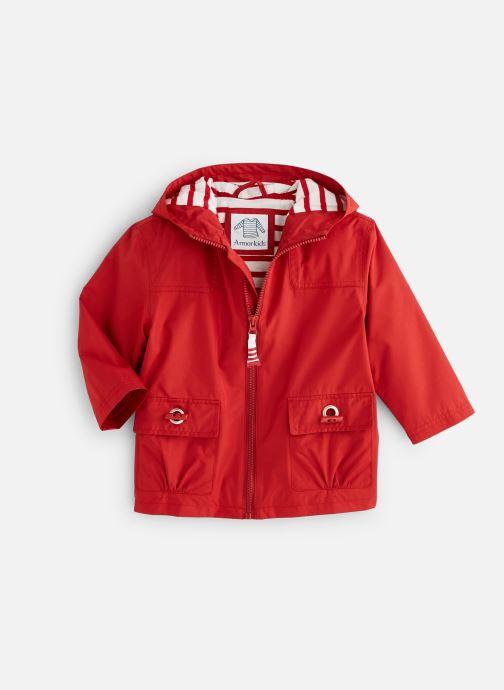Vêtements Armor Lux Parka Audierne Rouge vue détail/paire