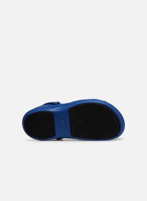 Sandales et nu-pieds Crocs Bistro m Bleu vue haut