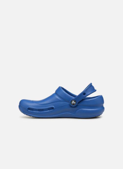 Mules et sabots Crocs Bistro w Bleu vue face