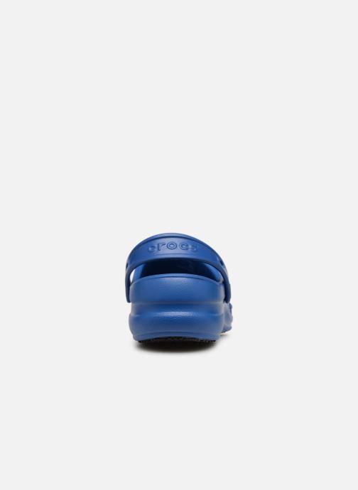 Mules et sabots Crocs Bistro w Bleu vue droite