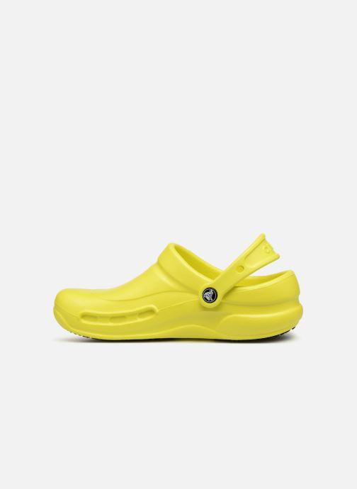 Clogs & Pantoletten Crocs Bistro w gelb ansicht von vorne