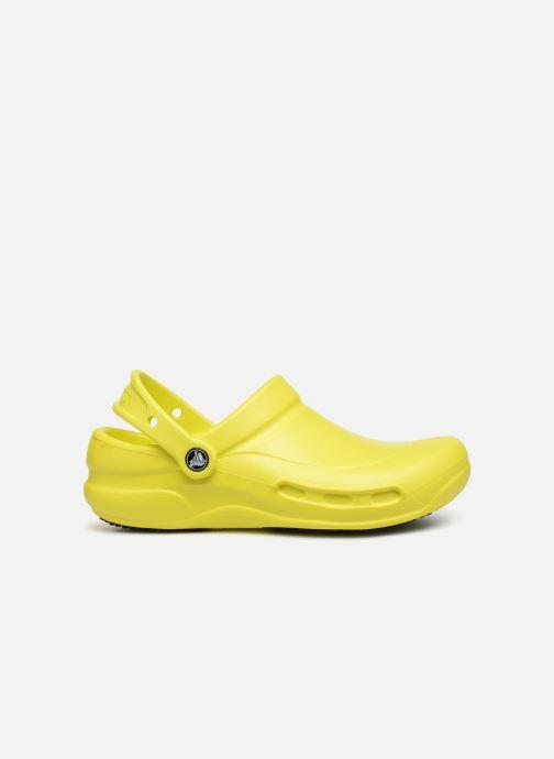 Clogs & Pantoletten Crocs Bistro w gelb ansicht von hinten