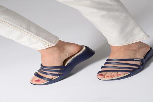 Wedges Crocs Rhonda Wedge Sandal W Bruin onder