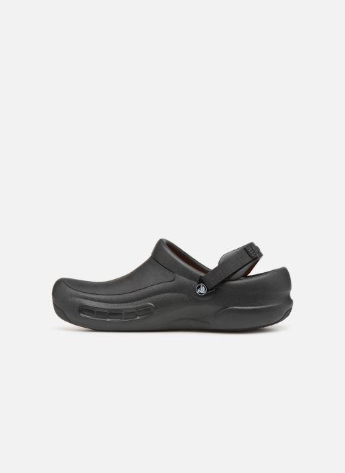 Sandales et nu-pieds Crocs Bistro Pro Clog Noir vue face