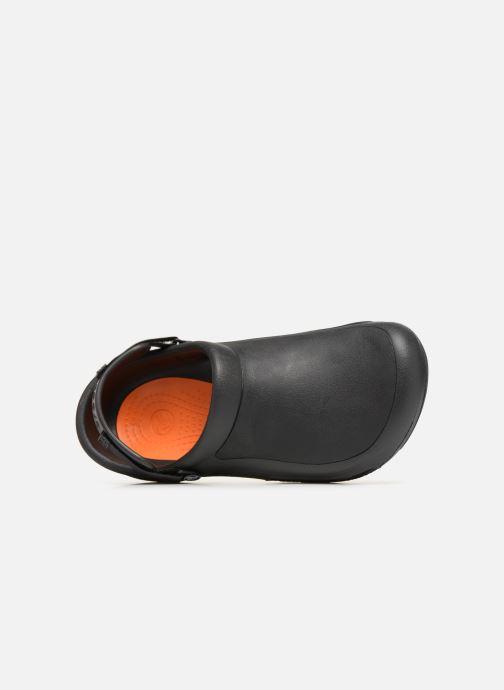Sandales et nu-pieds Crocs Bistro Pro Clog Noir vue gauche