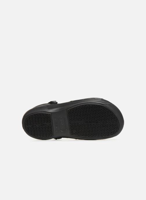 Sandales et nu-pieds Crocs Bistro Pro Clog Noir vue haut