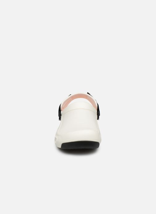 Sandals Crocs Bistro Pro Clog White model view