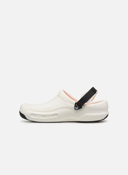 Sandales et nu-pieds Crocs Bistro Pro Clog Blanc vue face