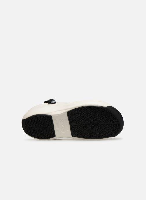 Sandales et nu-pieds Crocs Bistro Pro Clog Blanc vue haut