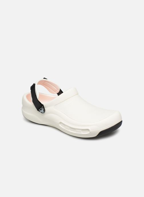 Sandales et nu-pieds Crocs Bistro Pro Clog Blanc vue détail/paire